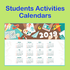 Students Activities Calendars