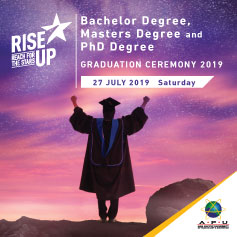 Degree, Master and PHD Graduation July 2019