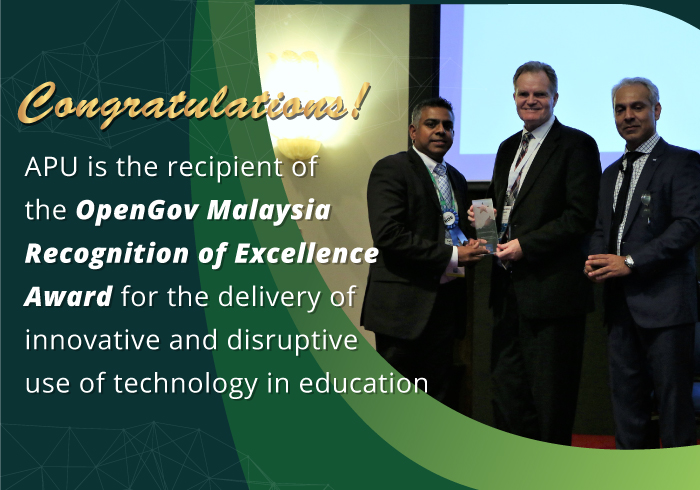 Recognition for Excellence