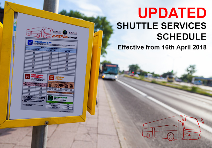 APU bus schedule