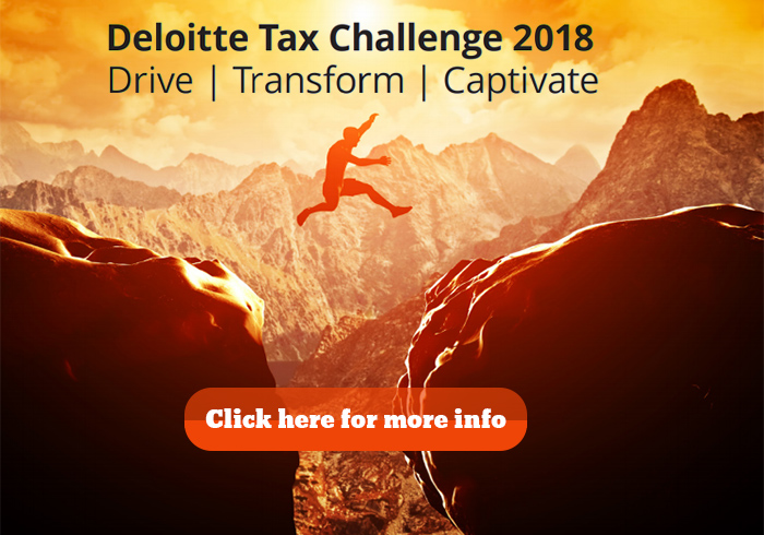 Deloitte Tax Challenge is back!