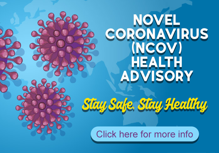 NOVEL CORONAVIRUS (NCOV) OUTBREAK