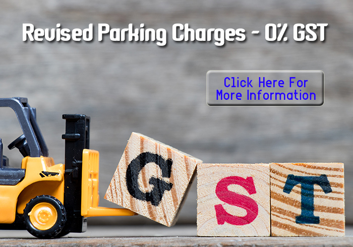 Revised Parking Charges - 0% GST
