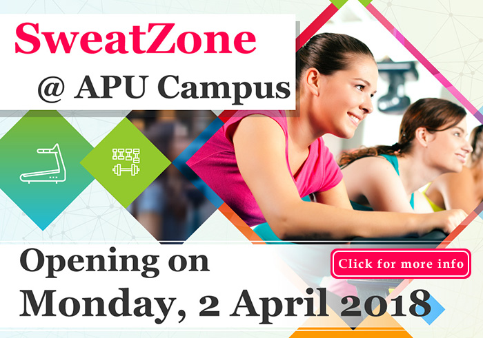 Opening of SweatZone @ APU Campus