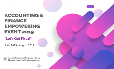 Accounting & Finance Empowering Event 2019