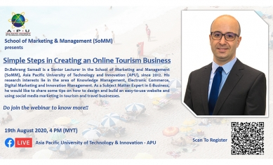 Simple Steps in Creating an Online Tourism Business