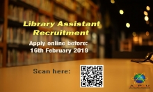 Library Assistant Recruitment
