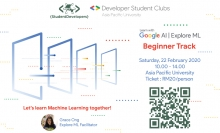 Google Explore ML - Beginner Track