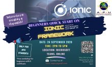 Beginner's Quick Start On Ionic Framework